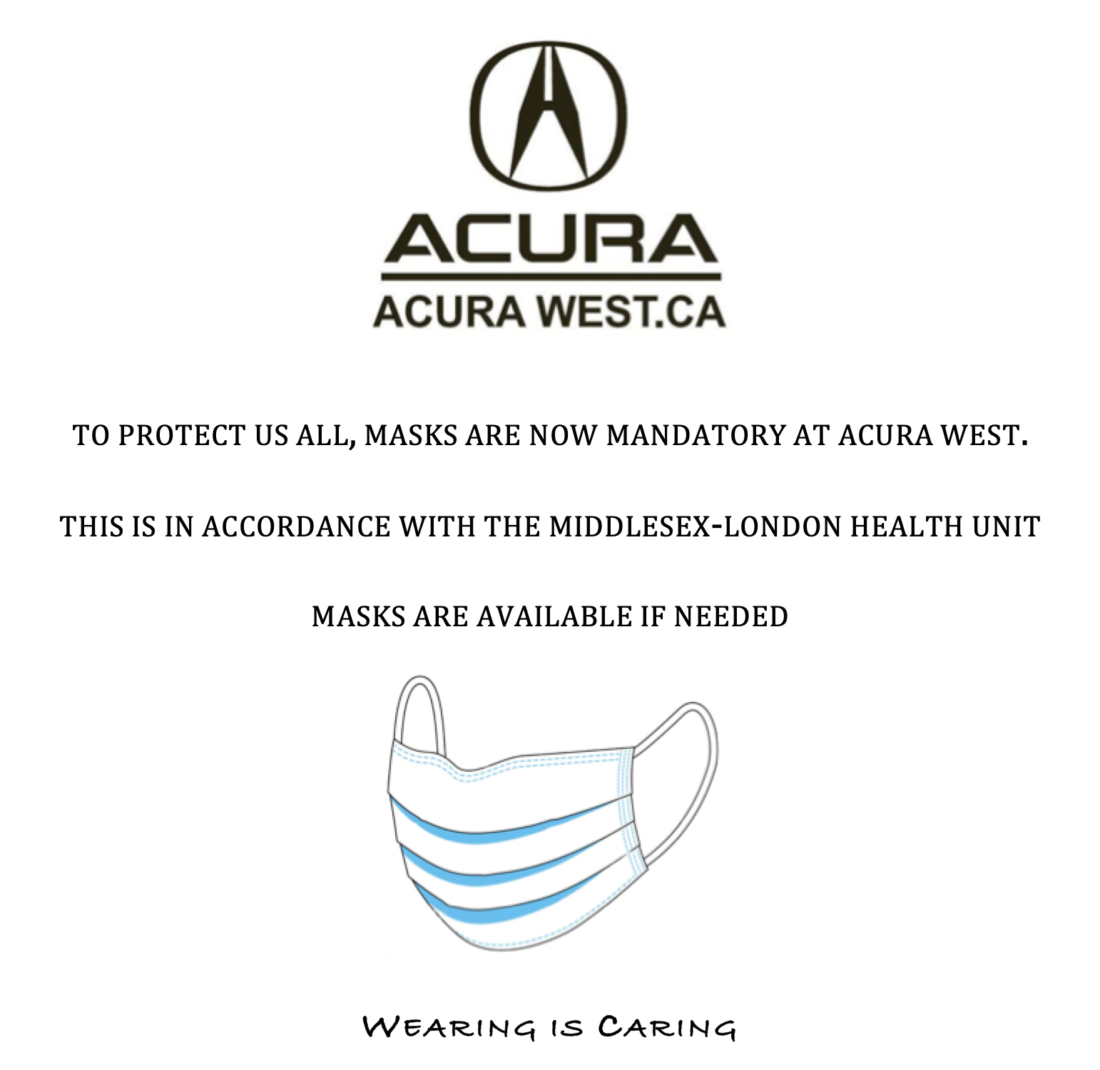 Contact Acura West London Acura Dealership @ (888) 380-5583